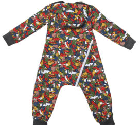 Bambinizon Sweatoverall Graffiti Baby