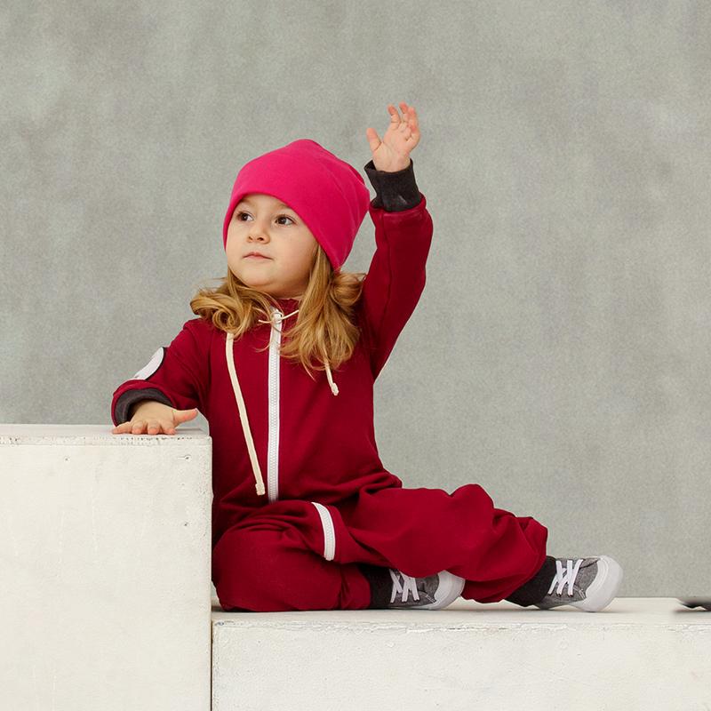 sweatoverall dunkelrosa babyshop one. Black Bedroom Furniture Sets. Home Design Ideas
