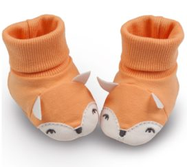 Pinokio Babyboots orange Füchse