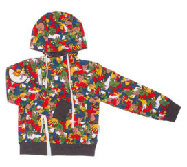Bambinizon Baby Kinder Sweatjacke graffiti